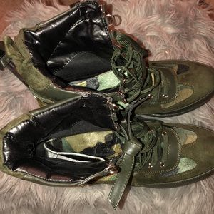 Army petite boots
